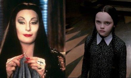 La famiglia Addams: il vestito che non faceva respirare Anjelica Huston e la protesta di Christina Ricci per Zio Fester