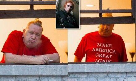 """Johnny Rotten dei Sex Pistols: """"Voterò Trump, Biden è un incapace"""""""