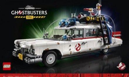 LEGO Ecto-1: svelato il set dedicato all'auto dei Ghostbusters