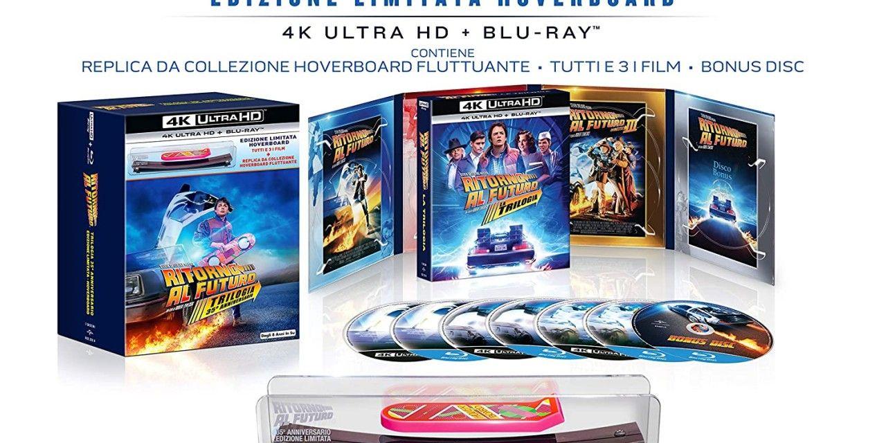 Ritorno al Futuro: per la prima volta in 4K UHD la trilogia che ha fatto la storia