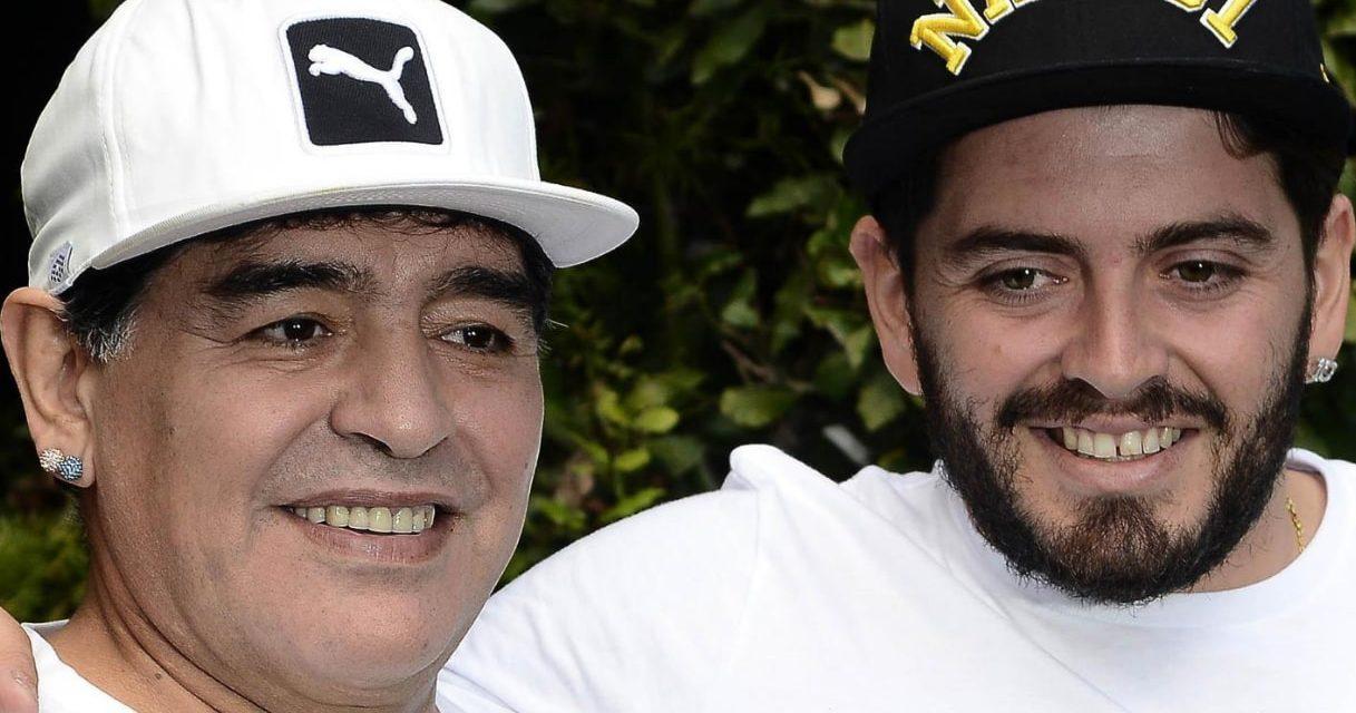 """Maradona, le parole di addio del figlio Diego Jr: """"Non morirai mai"""""""