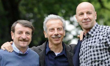 Aldo, Giovanni e Giacomo in versione Simpson in una foto da loro pubblicata
