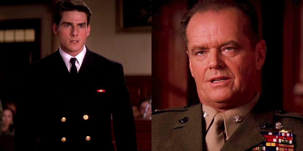Codice d'onore: Jack Nicholson recitò la scena del processo 50 volte e Aaron Sorkin scrisse metà film su dei tovaglioli