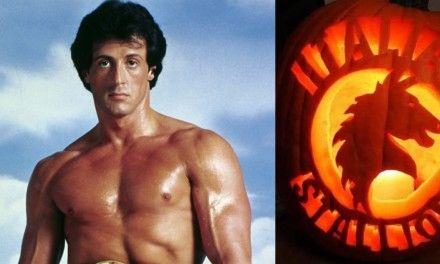 """Sylvester Stallone si fa la zucca di Halloween a tema Rocky """"Italian Stallion"""""""