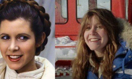 Carrie Fisher ci lasciava 4 anni fa: eccola in un video inedito sul set di Guerre Stellari