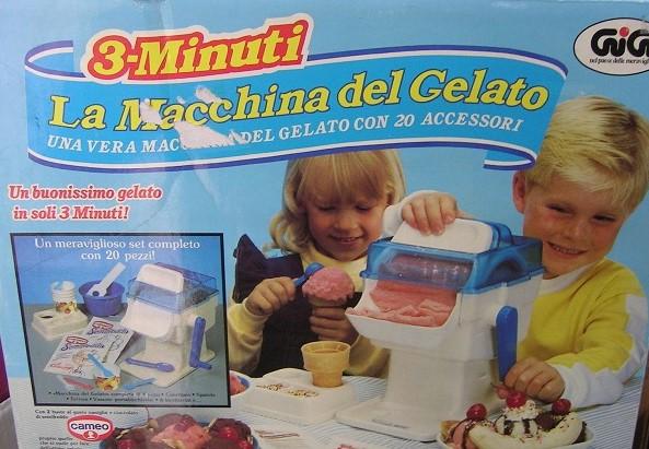 Macchina del gelato: un giocattolo della nostra infanzia