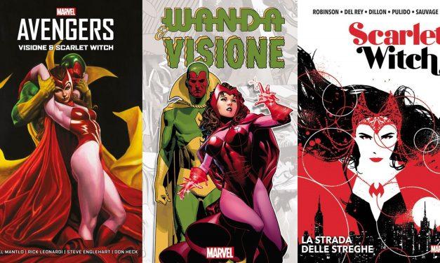 Panini Comics: I volumi imperdibili per scoprire Wanda e Visione, protagonisti di WandaVision, su Disney+ dal 15 gennaio