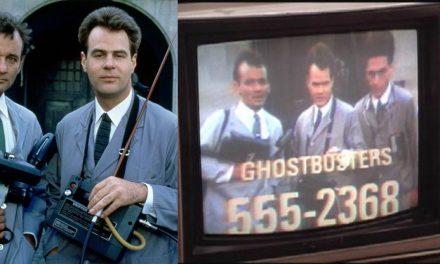 Ghostbusters e quelle 1000 telefonate all'ora, ogni giorno, al numero dello spot nel film