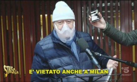 """Massimo Boldi beccato mentre gira video al volante: """"Ho fatto una cazz**a"""""""