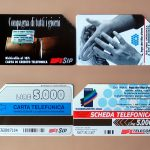 Le schede telefoniche anni '80/'90: storia e valore di tanta nostalgia