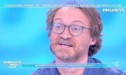 """Lorenzo Battistello: """"Sono andato dal medico per un tatuaggio infiammato, era un tumore al rene"""""""