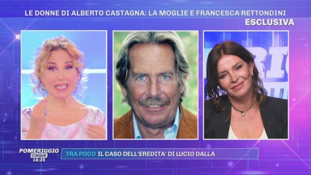 """Francesca Rettondini ricorda Alberto Castagna: """"Dopo la malattia sono nati dei dissapori, è stato difficile ricostruire"""""""