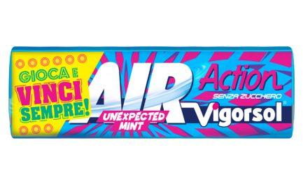 Arriva AIR Action Vigorsol GAME: con ogni pack vinci 1 codice film Chili e in palio 500 super premi!