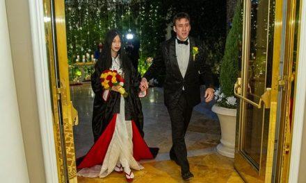 Nicolas Cage al quinto matrimonio: sua moglie ha 30 anni in meno di lui
