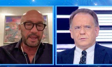 """Cecchi Paone e Walter Zenga, lite e insulti in tv: """"Parla di pallone, ignorante, buzzurro"""""""