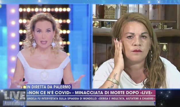"""Angela da Mondello attacca Barbara d'Urso: """"Hai rovinato 8 mesi della mia vita, ti sei presa gioco di me"""""""