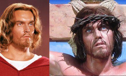 Il Re dei Re: la crocifissione rigirata per colpa della peluria, ed il naso finto di Jeffrey Hunter