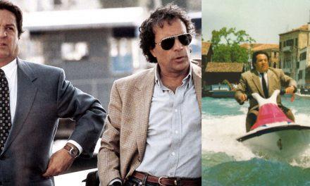 """Piedipiatti: Montesano e Pozzetto """"arrestati"""" a Venezia nella scena delle moto ad acqua e il sequel mai realizzato"""