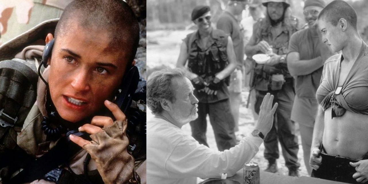 Soldato Jane: Demi Moore e i devastanti allenamenti con la Marina tra vomito, vesciche e flessioni