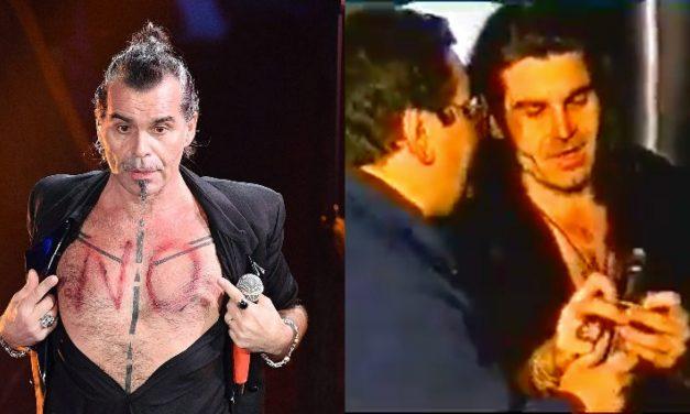 """Piero Pelù: """"Nel 1993 dopo aver messo un profilattico sul microfono venni bandito per quattro anni"""""""