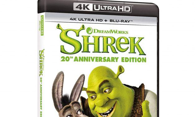 SHREK compie 20 anni e debutta in 4k Ultra HD