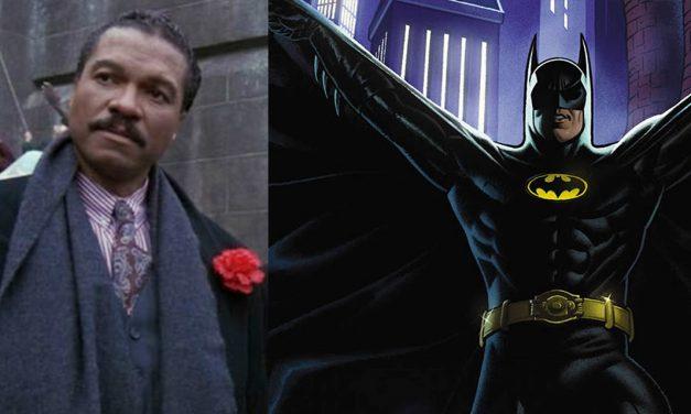 Batman '89: ecco il Due Facce di Billy Dee Williams, mai visto nei film anni '80