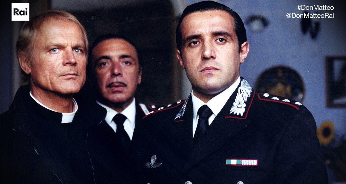 Don Matteo: ecco la foto del ritorno di Insinna insieme a Frassica dopo anni