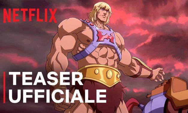 Masters of the Universe: primo trailer dei nuovi episodi Netflix