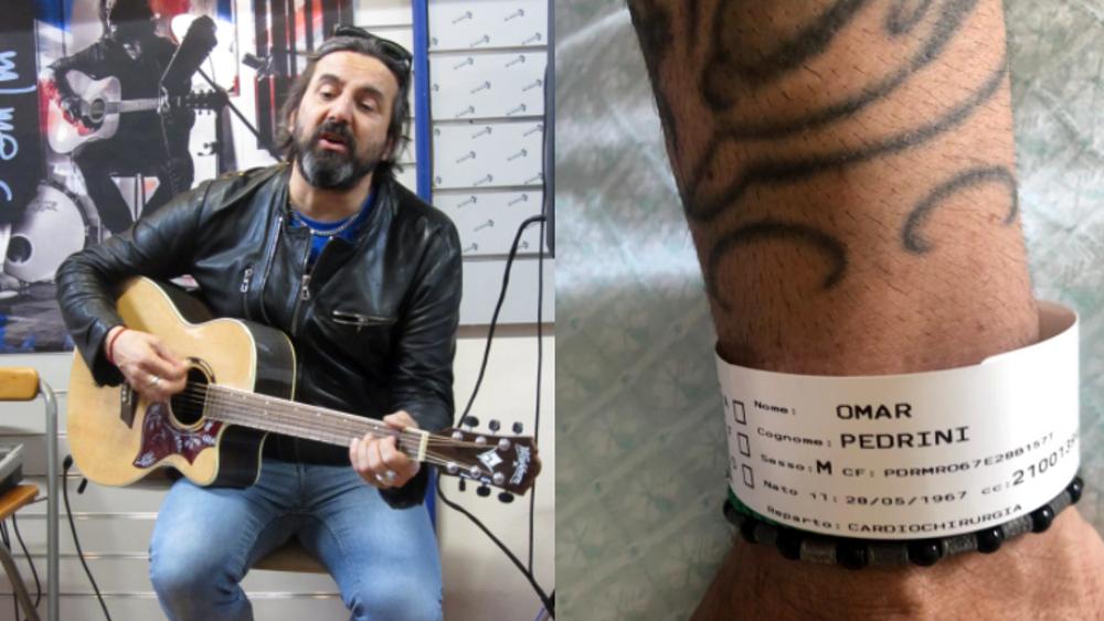 """Omar Pedrini operato d'urgenza: """"Ho un fottuto aneurisma aortico. Resterò ai box nell'estate della ripartenza"""""""""""