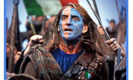 """Mancini come Braveheart, gli scozzesi tifano l'Italia contro l'Inghilterra: """"Salvaci Roberto, sei la nostra… speranza finale!"""""""