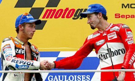 """Max Biaggi su Valentino Rossi: """"Mai stati amici, né in pista né fuori. Un giorno forse  ci ritroveremo davanti ad un bicchiere a farci quattro risate…"""""""