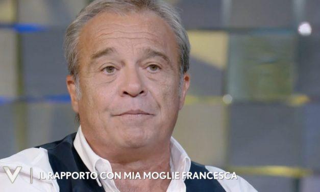 """Claudio Amendola sulla malattia della moglie: """"Francesca ha una malattia, un dolore fisico enorme"""""""