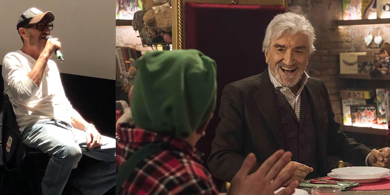 """Io sono Babbo Natale, Giallini ricorda Proietti e si commuove: """"Si vedeva che stava male, è stato come un padre"""""""
